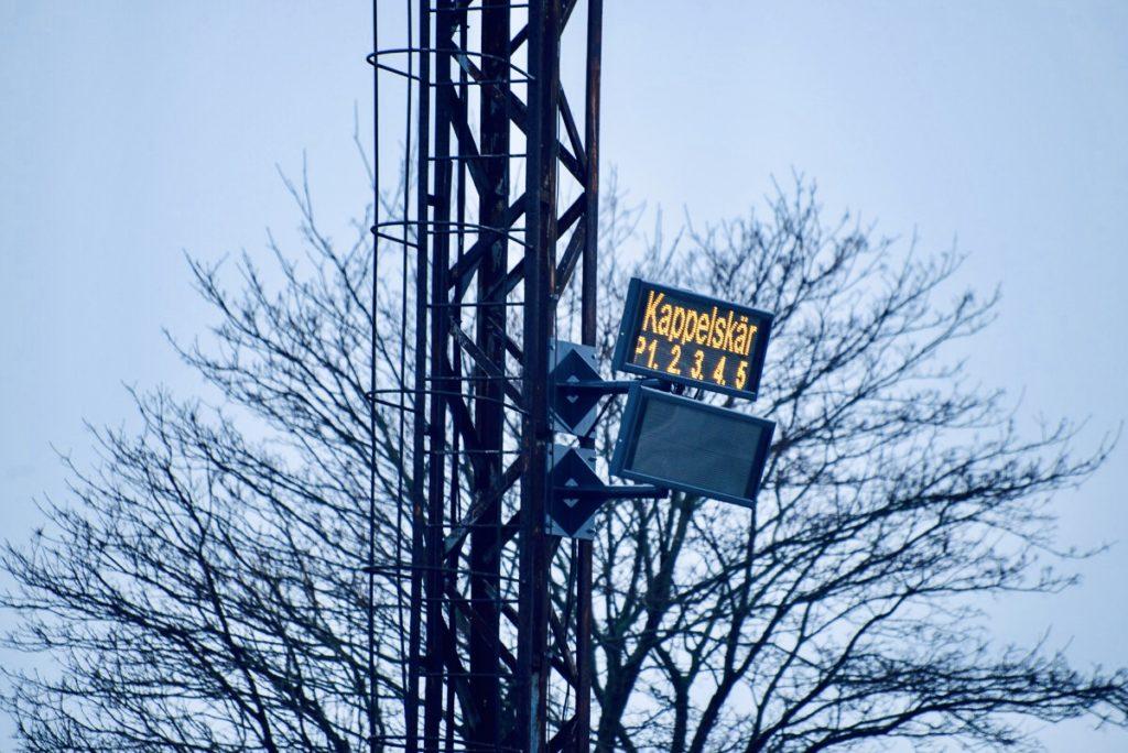 Ampron Rugged LED Message Boards at Port of Paldiski