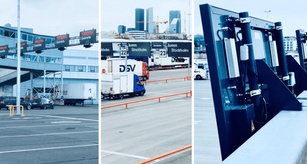 Ampron Rugged LED Message Boards for port