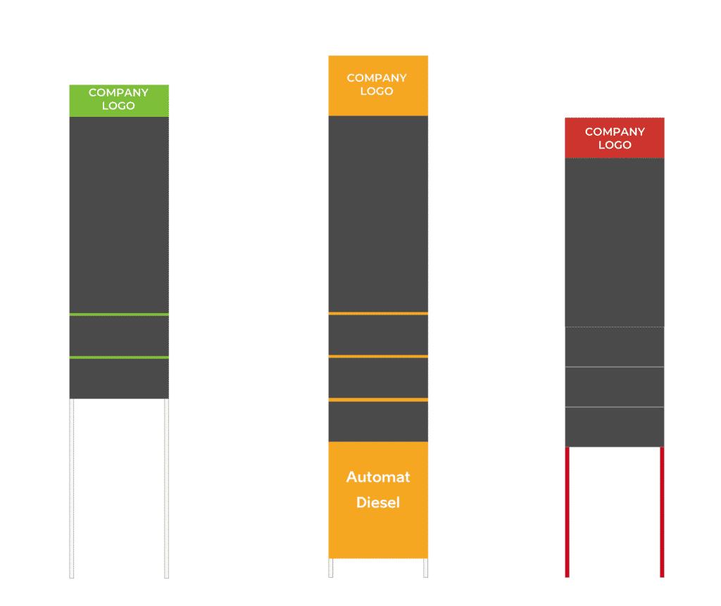 Ampron Fuel Price LED Display