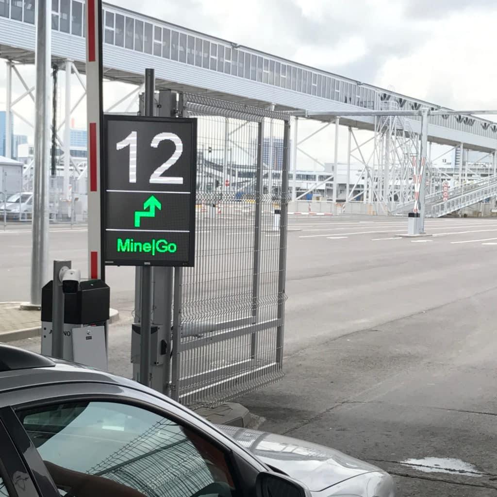 Ampron LED message boards for port