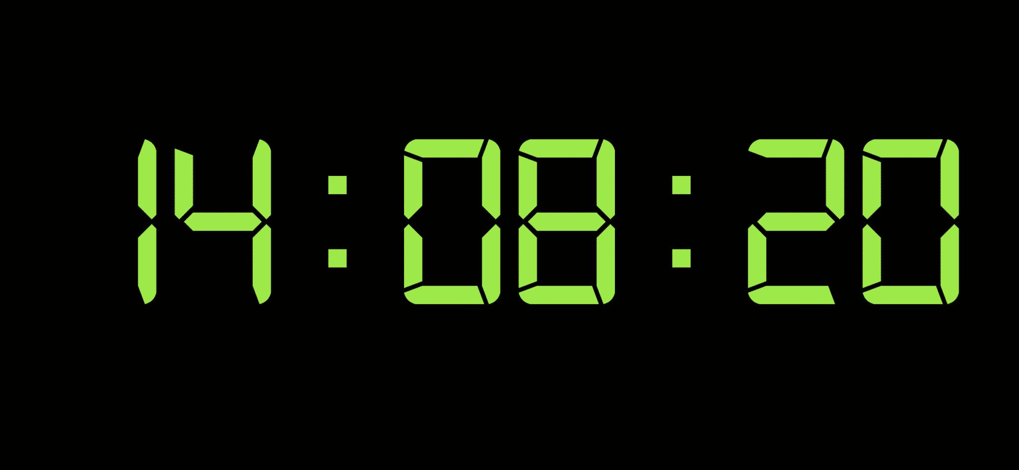 Ampron Digital Wall Clock
