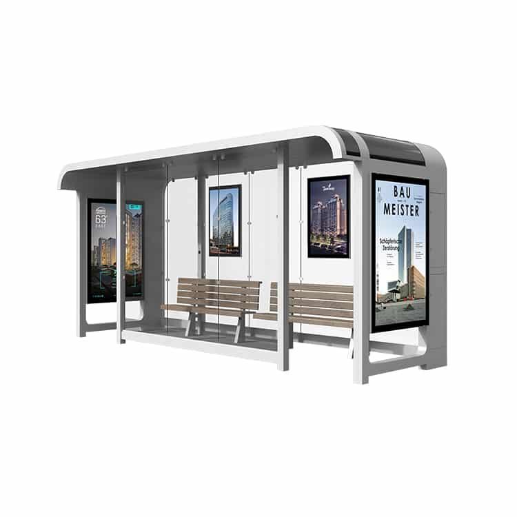 Ampron SmartCity Bus Shelter