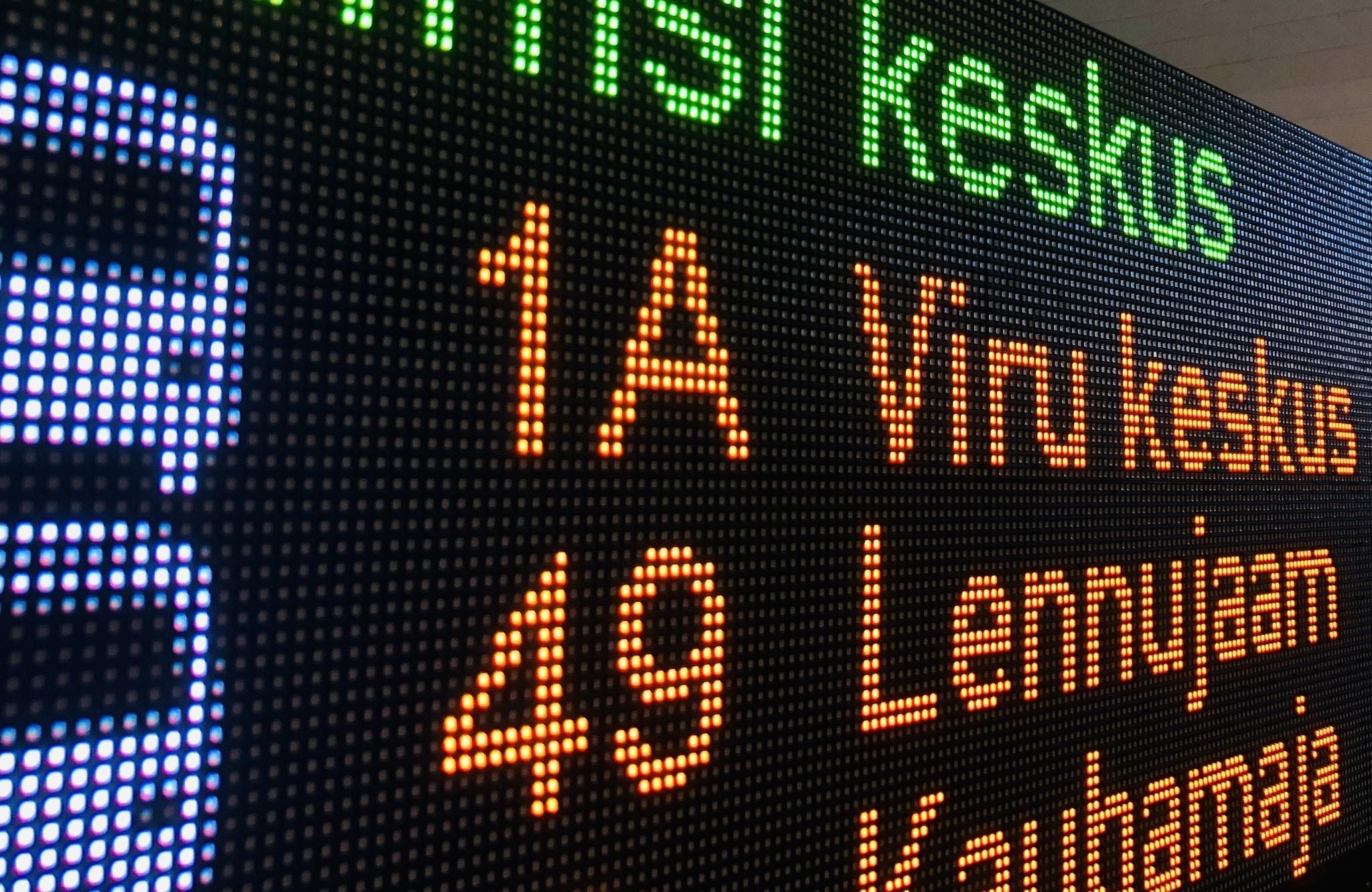 LED message boards for transportation