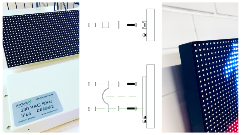 Ampron LED Compact Model Message Board