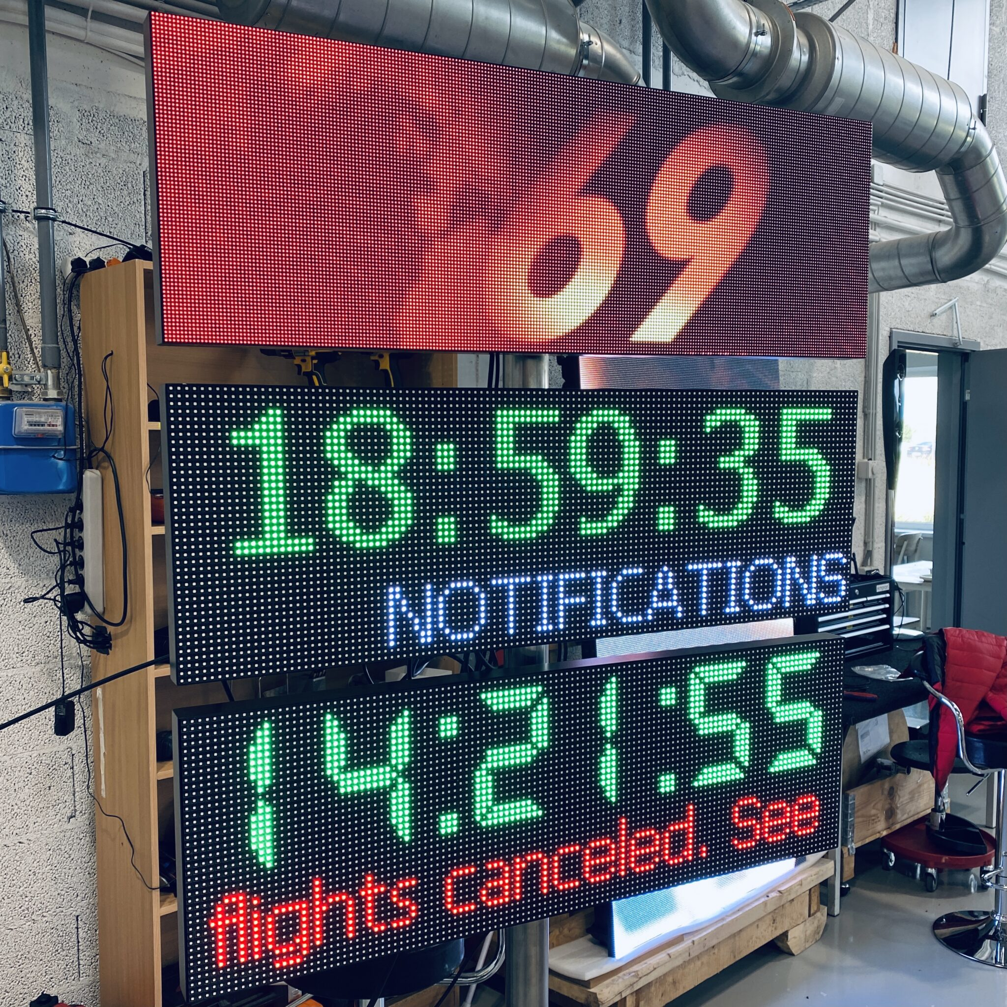 Parking LED Message Board Compact Model DS-960x320