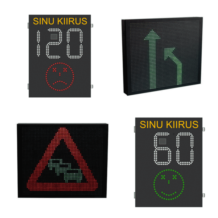 EN-12966 Series VMS Variable Message Signs by Ampron